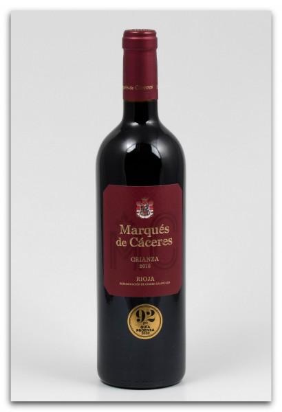 Marqués de Cáceres Rioja Crianza DOCa 2016