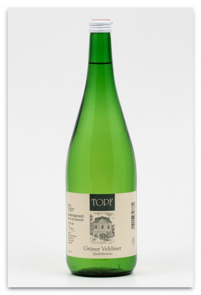 Weingut Topf Grüner Vetliner 2016, trocken - Literflasche