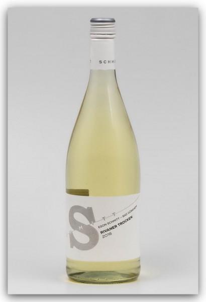 Weingut Egon Schmitt Rivaner 2018, trocken - Literflasche