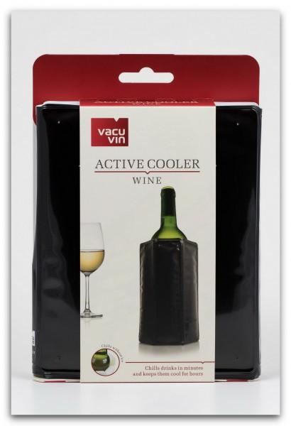 Vacu Vin Aktiv Weinkühler schwarz für 0,75 L. Flaschen