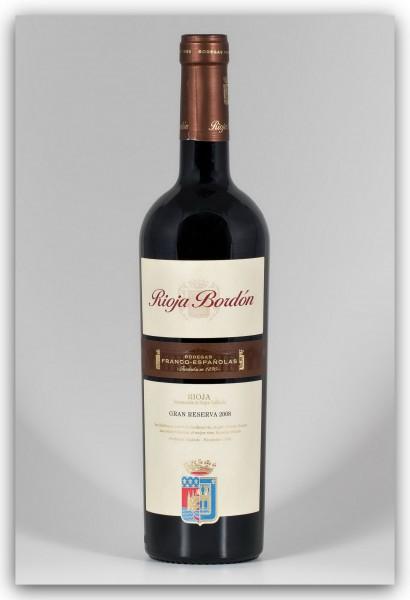Franco Españolas Rioja Bordón Gran Reserva DOCa 2008