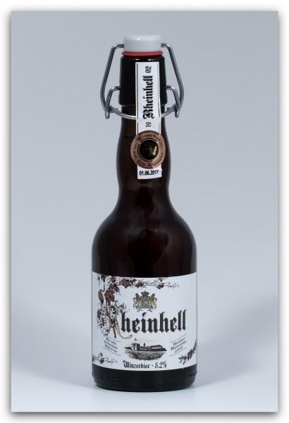 """Schloss Reinhartshausen """"Rheinhell"""" Winzerbier, 0,33 Literflasche"""