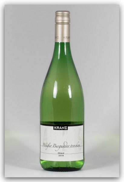 Kranz Weißer Burgunder 2018 - Literflasche