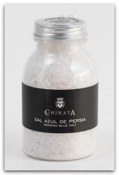 Sal Azul de Persia - 100 % persisches Steinsalz mit blauen Kristallen - 280 g