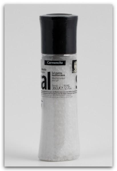 Carmencita Salzmühle mit 100% Meersalz - 360 g