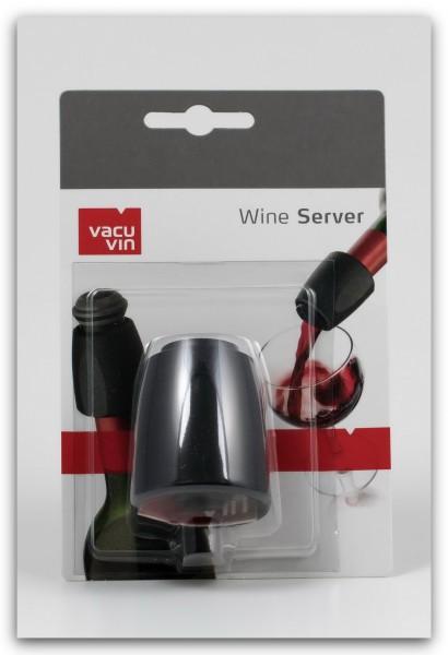 Vacu Vin Weinausgießer schwarz im Blister